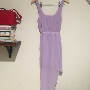 S&N Lavender Side Tail Dress